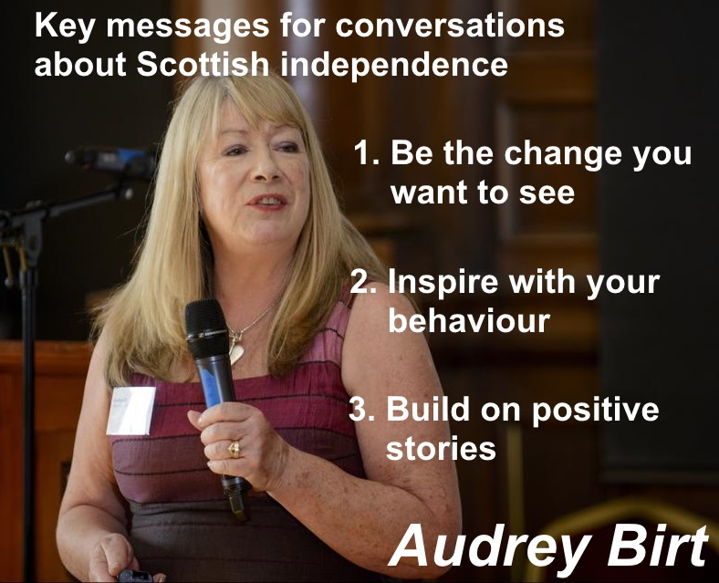 Audrey Birt on YES Communication