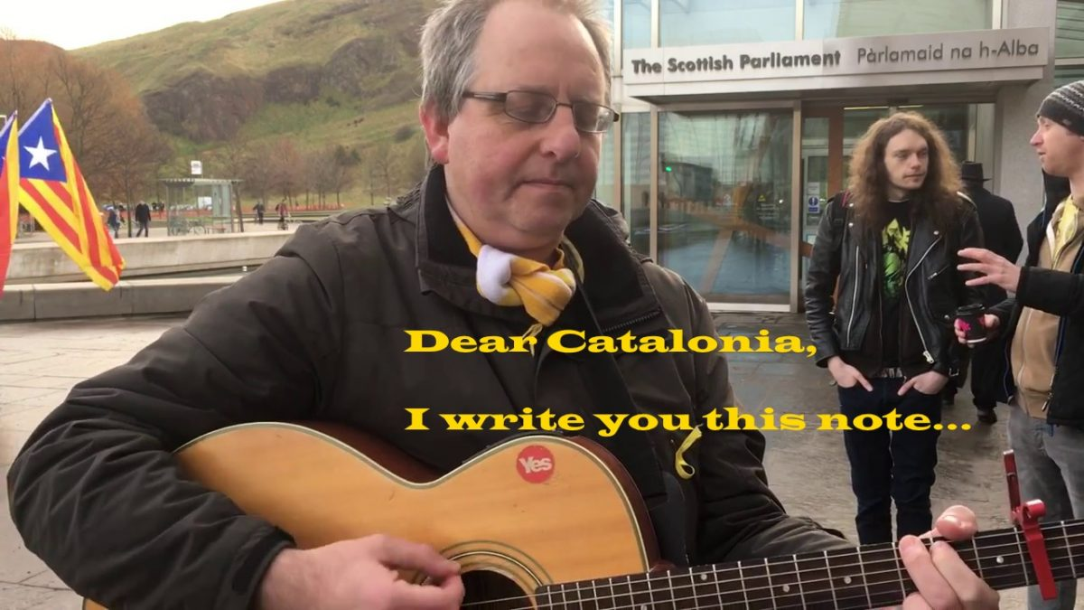 The #DearCatalonia Song